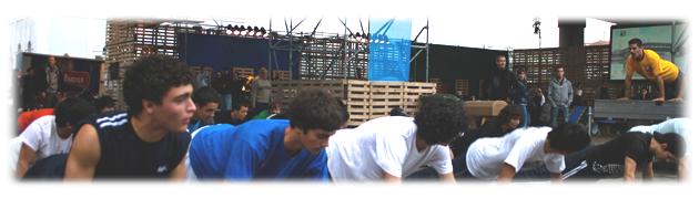Parkour:Actividad física:Salud